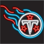 Tennessee Titans Neon Sign