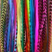 Hair Feather MIXES (loose feathers)