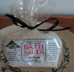 Patchouli Effervescent Bath Salts