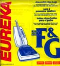EUREKA VACUUM CLEANER BAG STYLE F&G