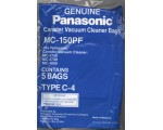 GENUINE PANASONIC BAG C4 5/PK