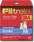 EUREKA RR PET ODOR ELIMINATING VACUUM BAGS 3M FILTRETE