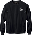 HCEA Black Windshirt w/White Emb. Logo