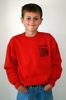 H.C.E.A. Logo Youth Sweatshirt  - Available in Red or  Ash Gray