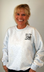 "#4031  HCEA Logo Adult Sweatshirts - Ash Gray  ""ON SALE"""