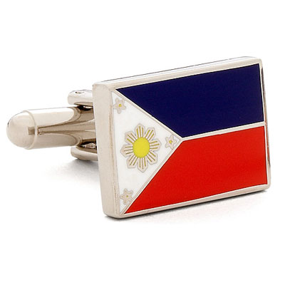 Philippine Flag Cufflinks