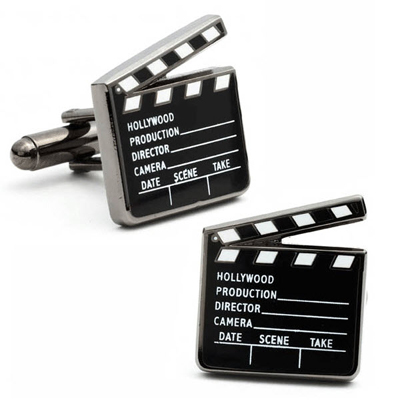 Movie Director Cufflinks