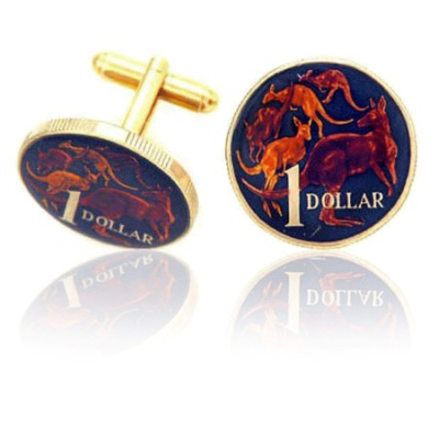 Australian Coin Cuff Links