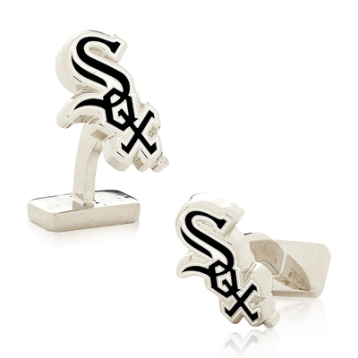 Sterling Chicago White Sox Cufflinks