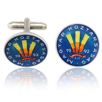 Hungary Wheat Coin Cuff Links