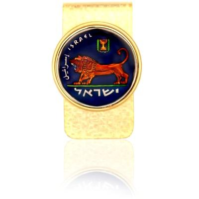 Israel Lion Of Judah Coin Money Clip