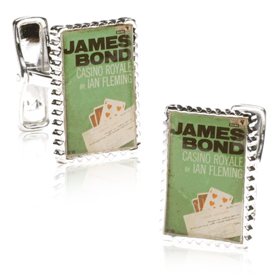 James Bond Casino Marker Cufflinks