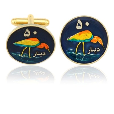 Kurdistan 804 Coin Cuff Links