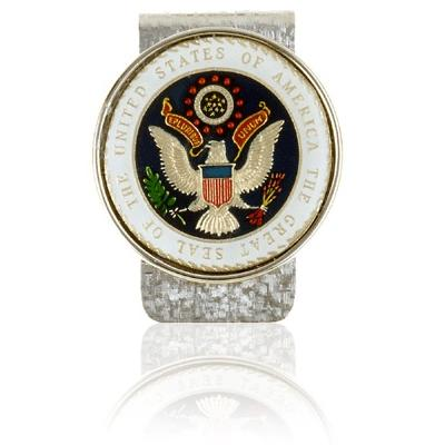 Presidential Seal Medallion Coin Money Clips