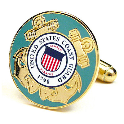 Coast Guard Cufflinks