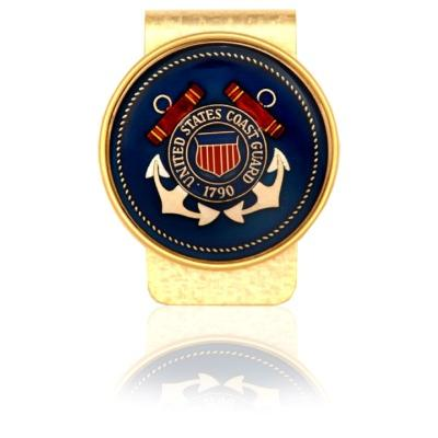 Coast Guard Coin Money Clip