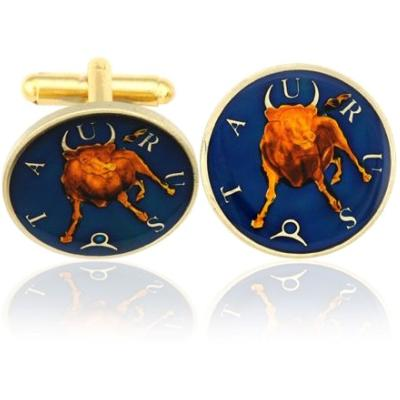 Taurus-The Bull Coin Cufflinks