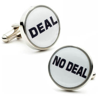 Dealmaker Cufflinks