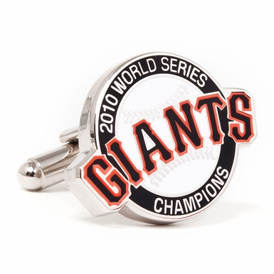 2010 Commemorative San Francisco Giants Cufflinks