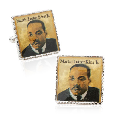 Martin Luther King Jr. Stamp Cufflinks