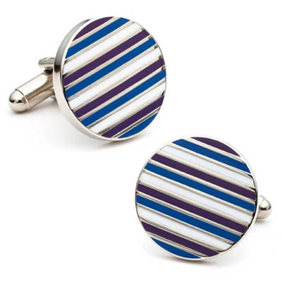 Royal Stripe Cufflinks