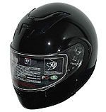 Modular Full Face Black Helmet