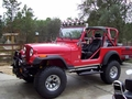 Jeffry Stewart, Crystal River FL., Jeep CJ7