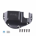 Differential Skid Plate with Jeep Logo fits Dana 44, Mopar Licenced Part