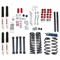 4-Inch Lift Kit with Shocks, 03-06 Jeep Wrangler TJ by ORV Rugged Ridge