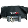 Winch Cover, 8,500 and 10,500 winches by Rugged Ridge