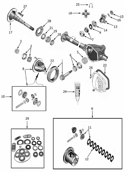 jeep cj7 rear axle diagram  jeep  free engine image for