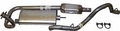 Exhaust Kit Jeep Wrangler (1997-2000) with 2.5L engine