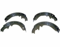 "Brake Shoe Set for Front or Rear, Fits 1972-78 Jeep CJ with 11"" Drum Brakes"