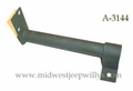 Rear floor foot rest assembly, 1941-45 MB   A-3144