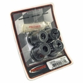 Prothane Shackle Bushing Kit for Jeep 1976-86 CJ Rear, BLACK