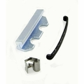 Brake Caliper Hardware Kit, fits 1978-1981 Jeep CJ w/ 2-Bolt Caliper Plate