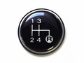 1) 4 Speed Transmission Shift Knob Insert for 1982-83 Jeep CJ-5, 1982-86 CJ-7 & 1982-85 CJ-8