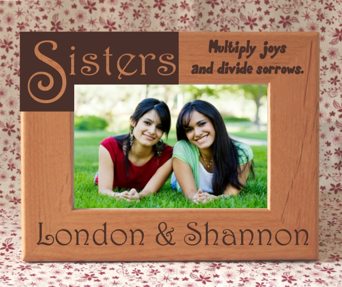 Personalized Best Friends Photo Frame
