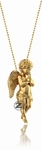 Guardian Angel Charm by ZShock in Yellow Gold