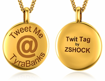 ZShock TwitTag Button Pendants