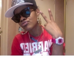 Teyana Taylor Rockin Her Custom Iced Out Diamond G-Shock By ZShock