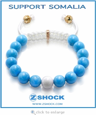 Somalia Shockra Nome Bracelet For Charity