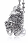 Zar Lion Head Pendant