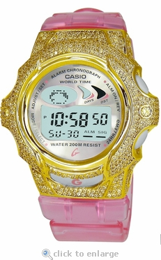 The Amari  Bibi ZShock Bezel  Series for G-Shock Baby-G Jelly