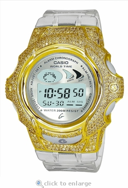 The Amari Cristall ZShock Bezel Series for G-Shock Baby-G Jelly