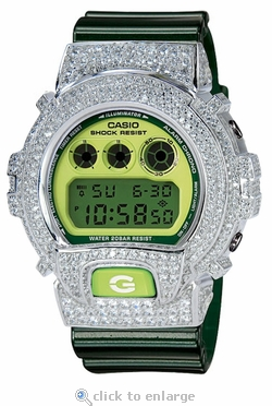 The Premier Kush Custom G-Shock With ZShock Bezel
