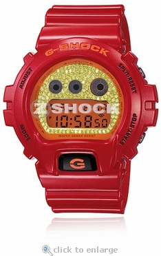 The Sleet Blazin Heat Custom G-Shock with ZShock Dial