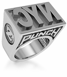 ZShock Rep Your City Punch Rings