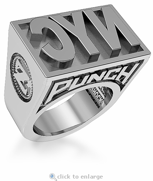 ZShock New York City NYC Punch Ring