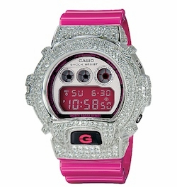 Travis Mccoy (Gym Class Heroes) Blinged Out G-Shock
